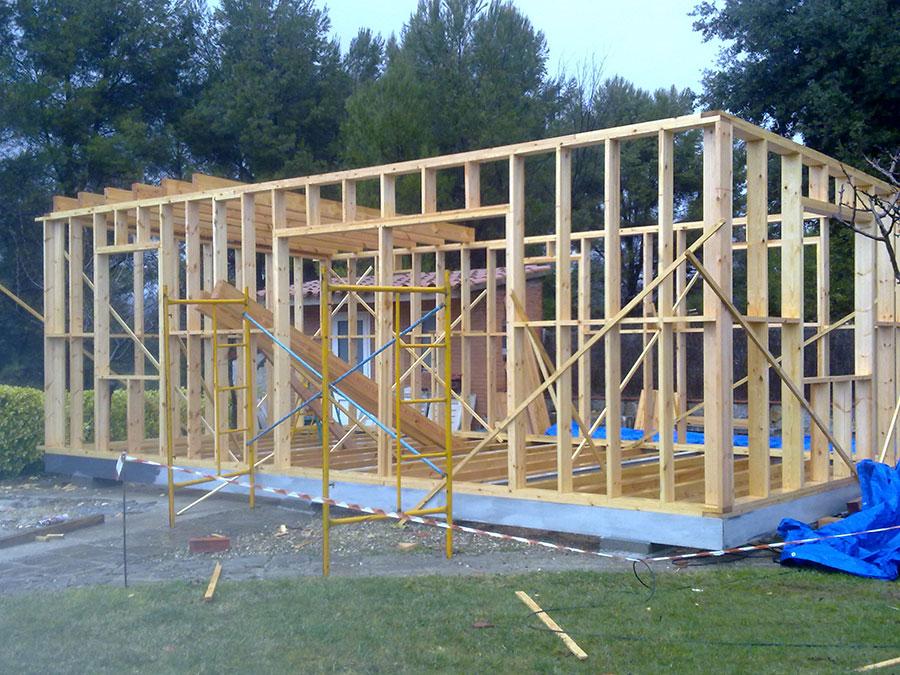Casas prefabricadas madera entramado ligero madera - Casas entramado ligero ...