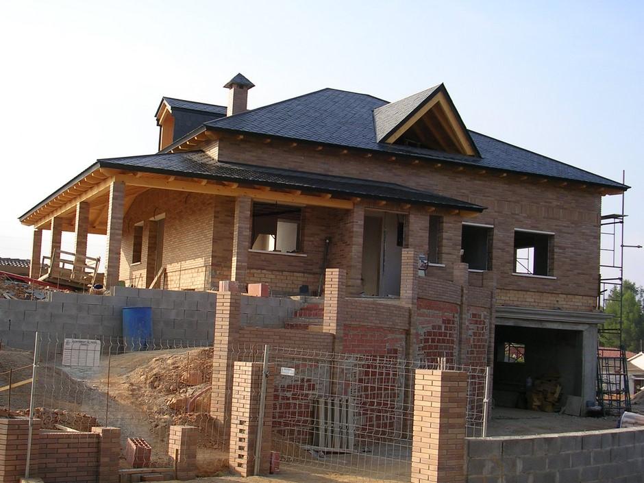 Estructuras de madera cubiertas gonz lez - Casas estructura de madera ...